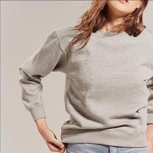 Urban Outfitters Freshman Sweatshirt Grey